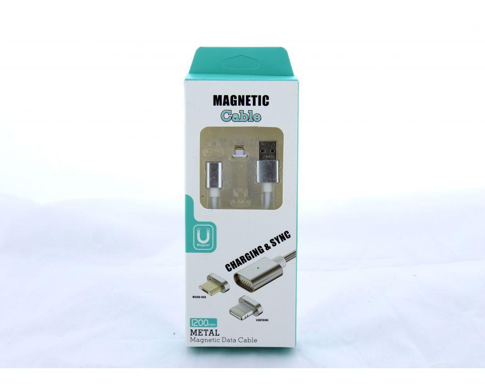 Шнур для мобільного magneti lightning магнітний IP