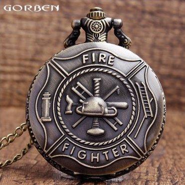 Часы карманные подарок пожарнику