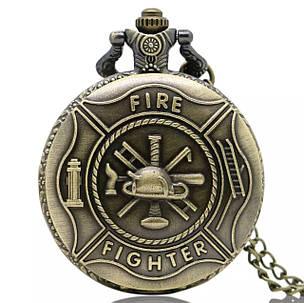 Годинники кишенькові подарунок пожежнику, фото 2