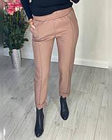 Женские стильные брюки с отворотом Норма, фото 1