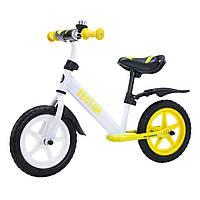"""Беговел, велобег детский 12"""" от 2 лет,  BALANCE TILLY Vector T-21256/1"""