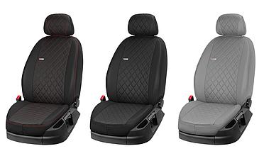 Автомобільні чохли з еко шкіри для Audi A2, A8, Q3, A4, A6, A80