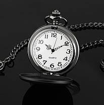 Чоловічі годинники кишенькові на ланцюжку орел, фото 3