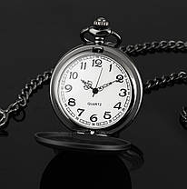 Мужские часы карманные на цепочке орёл, фото 3