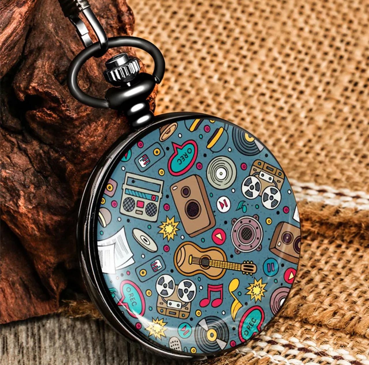 Чоловічі годинники кишенькові на ланцюжку