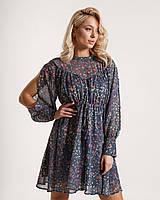 Женское летнее шифоновое платье с цветочным принтом, красивые модные платья, летние женские платья