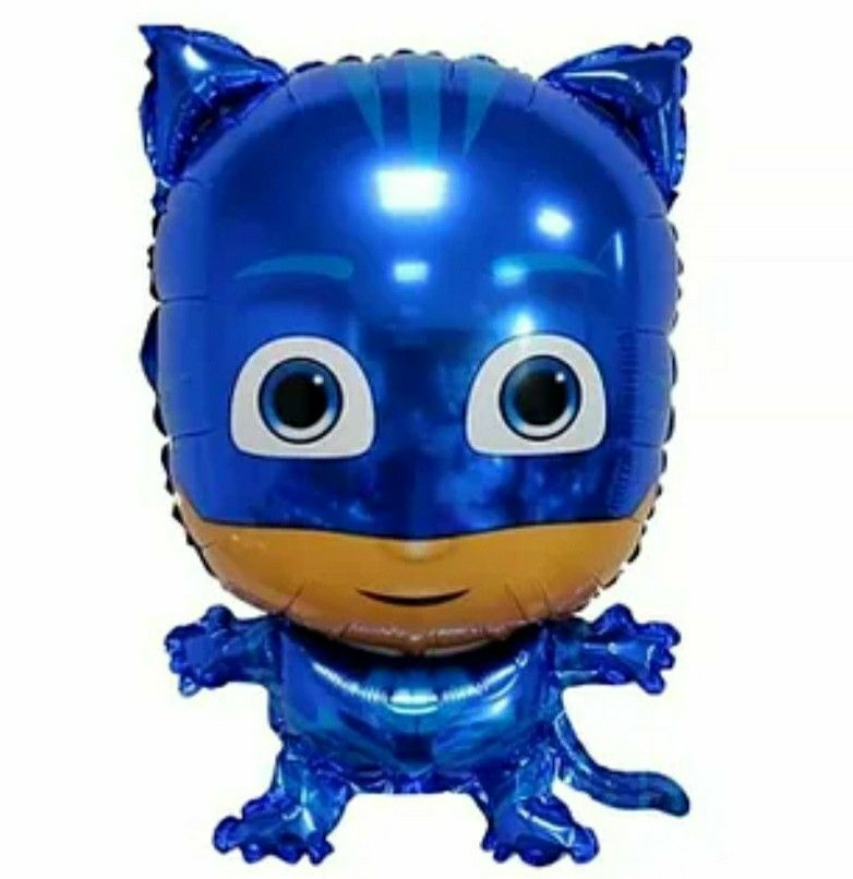 Фольгована кулька велика фігура Герой у масці синій Коннор (Кетбой) 44,5х68см Китай