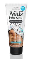 Крем для быстрого удаления волос для тела, для мужчин, Nad's (США), 200 мл-1 шт