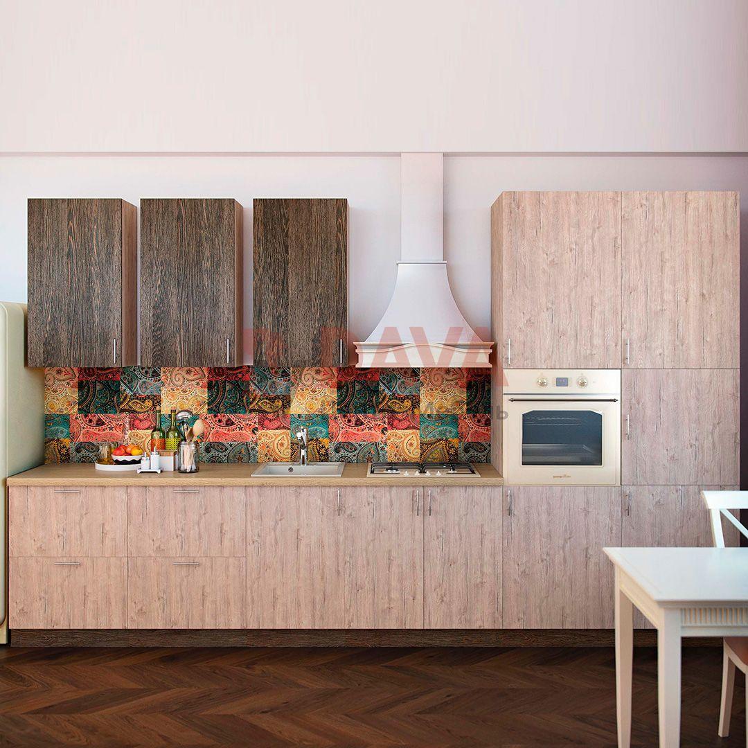 Кухня современного стиля Киевский стандарт. Фасады ДСП. Набор 25
