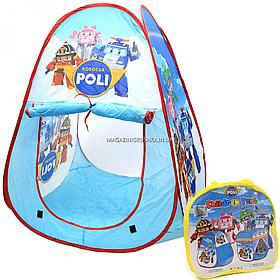 Дитячий ігровий намет Јіа Yu Toy Trade «Робокар Полі», 90х90х100 см (999E-65A)