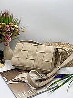 Жіноча сумка на плече 099 бежевий Жіночі клатчі від Українського виробника купити недорого Одеса 7 км, фото 1