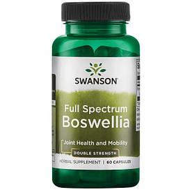 Натуральная добавка Swanson Boswellia 800 mg Full Spectrum, 60 капсул