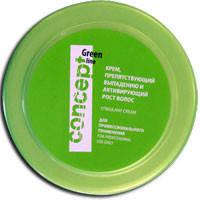 Крем препятствующий выпадению и активизирующий рост волос, Concept 300 ml.