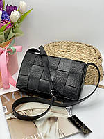 Жіноча сумка на плече 099 чорний Жіночі клатчі від Українського виробника купити недорого Одеса 7 км, фото 1