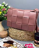 Женский сумка на плечо 099 пудра Женские клатчи от Украинского производителя купить недорого Одесса 7 км, фото 1