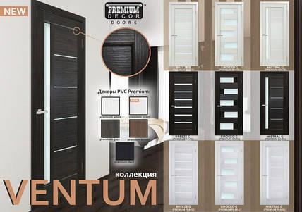 Двери межкомнатные ОМиС коллекции VENTUM