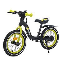 """Беговел, велобег  14"""" от 2.5-7 лет надувные колеса, с ручным тормозом BALANCE TILLY Extreme T-212524"""
