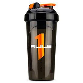Шейкер Rule 1 Shaker Cup 700 мл, чорний