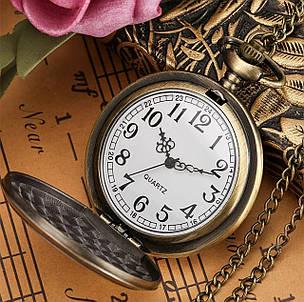 Чоловічі годинники кишенькові на ланцюжку, фото 2