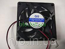 Вентилятор для сварочного аппарата 70х70х25 мм 12 V