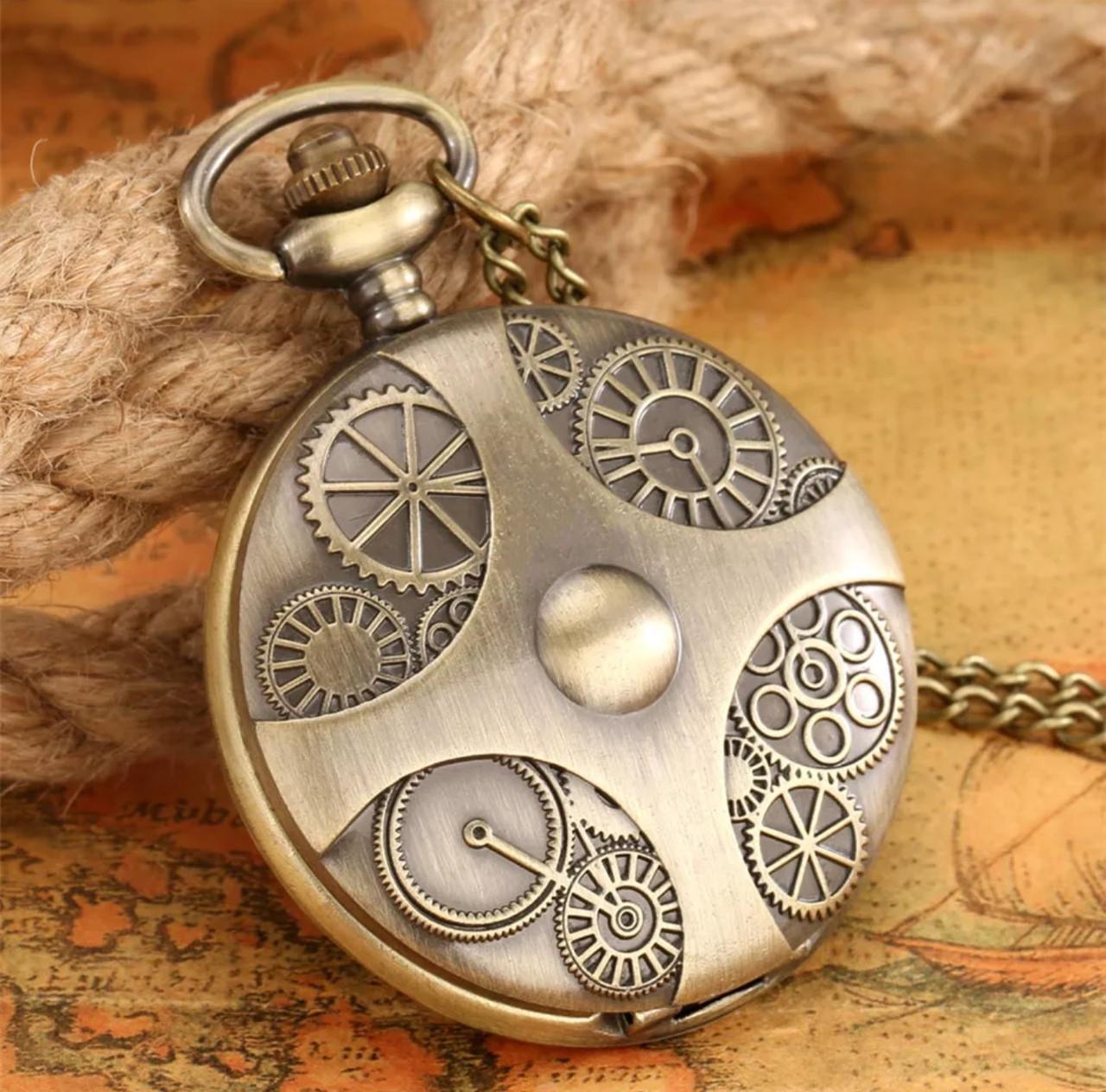 Мужские часы карманные на цепочке