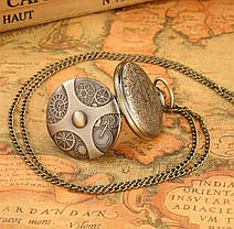 Чоловічі годинники кишенькові на ланцюжку, фото 3