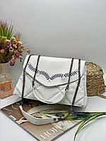 Жіноча сумка на плече 126 білий Жіночі клатчі від Українського виробника купити недорого Одеса 7 км, фото 1