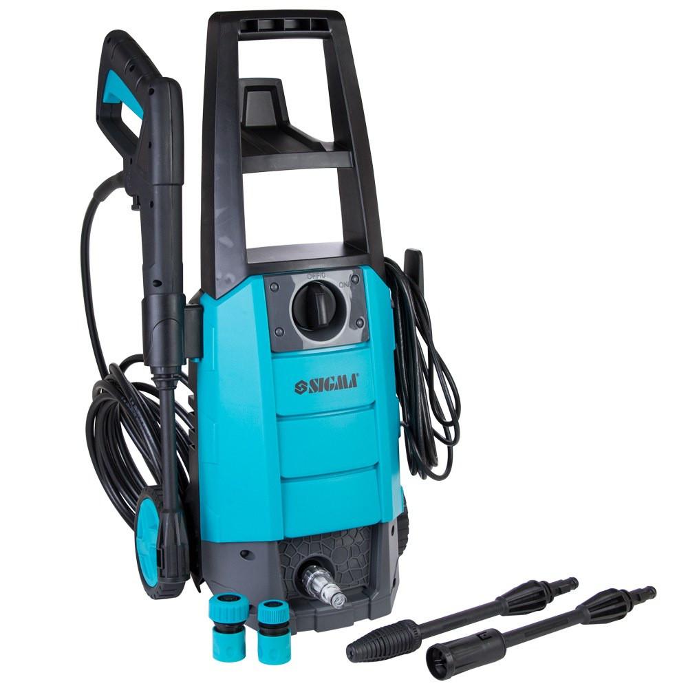 Апарат високого тиску Sigma 6.7 л/хв Мийка портативна для авто Мінімийка Універсальна 130 бар 1700 Вт