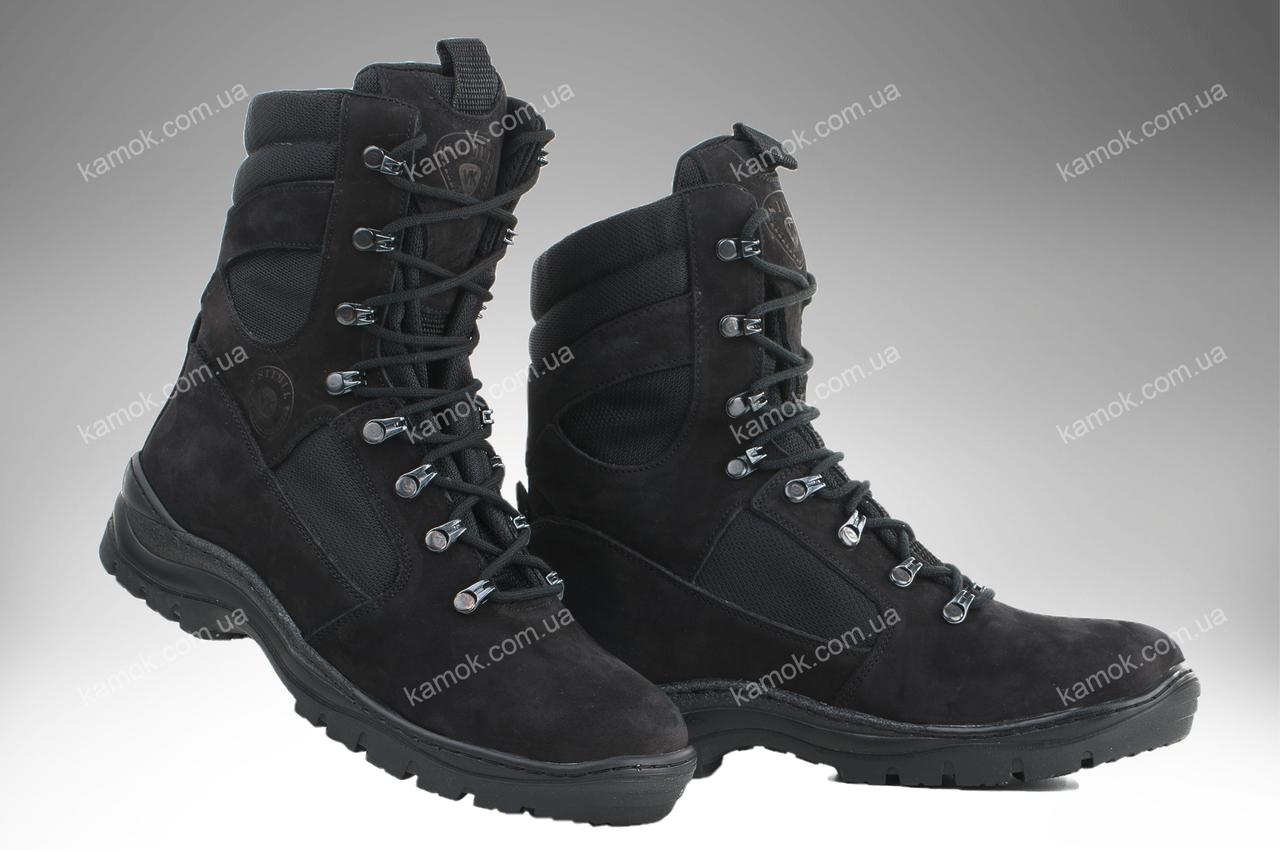 Берци демісезонні / військове тактичне взуття GROZA (чорний)