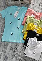 Футболка для девушек ПАНДА норма размер 42-46,цвет уточняйте при заказе