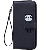 Чехол-книжка Animal Wallet для Huawei P10 Lite Panda
