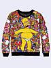 Світшот жіночий 3D Homer Simpson/Свитшот ГОМЕР Симпсон