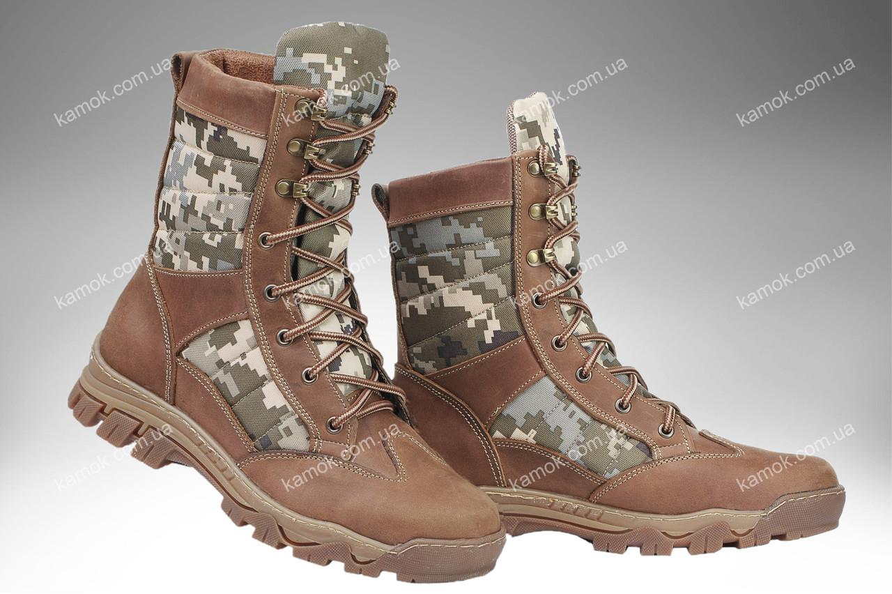 Берцы демисезонные / военная, тактическая обувь INFERNO Desert (MM14)