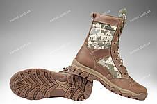 Берцы демисезонные / военная, тактическая обувь INFERNO Desert (MM14), фото 2