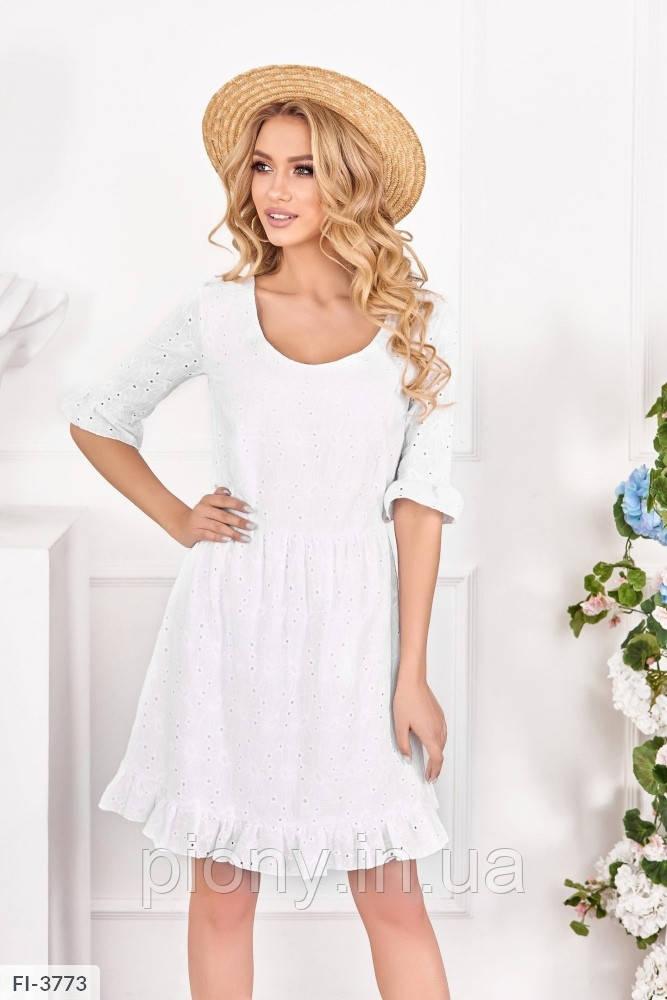 Жіноче Плаття з оборками