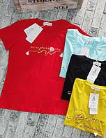 Футболка для девушек LOVE норма размер 42-46,цвет уточняйте при заказе