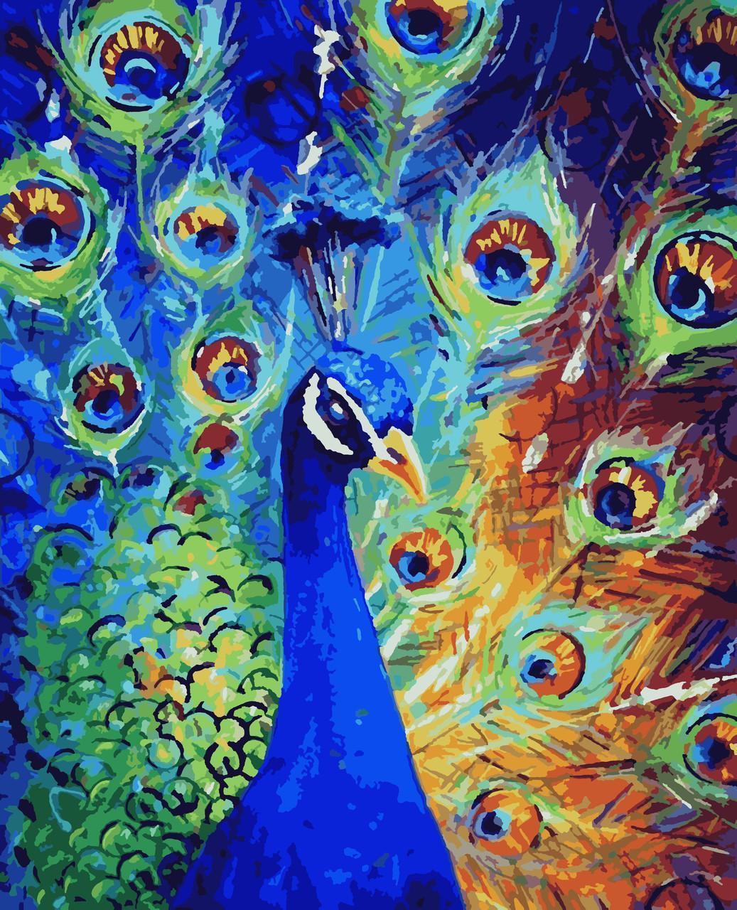 Картина малювання за номерами Павич PNX2935 Artissimo 50х60см розпис за номерами набір, фарби, пензлі, полотно
