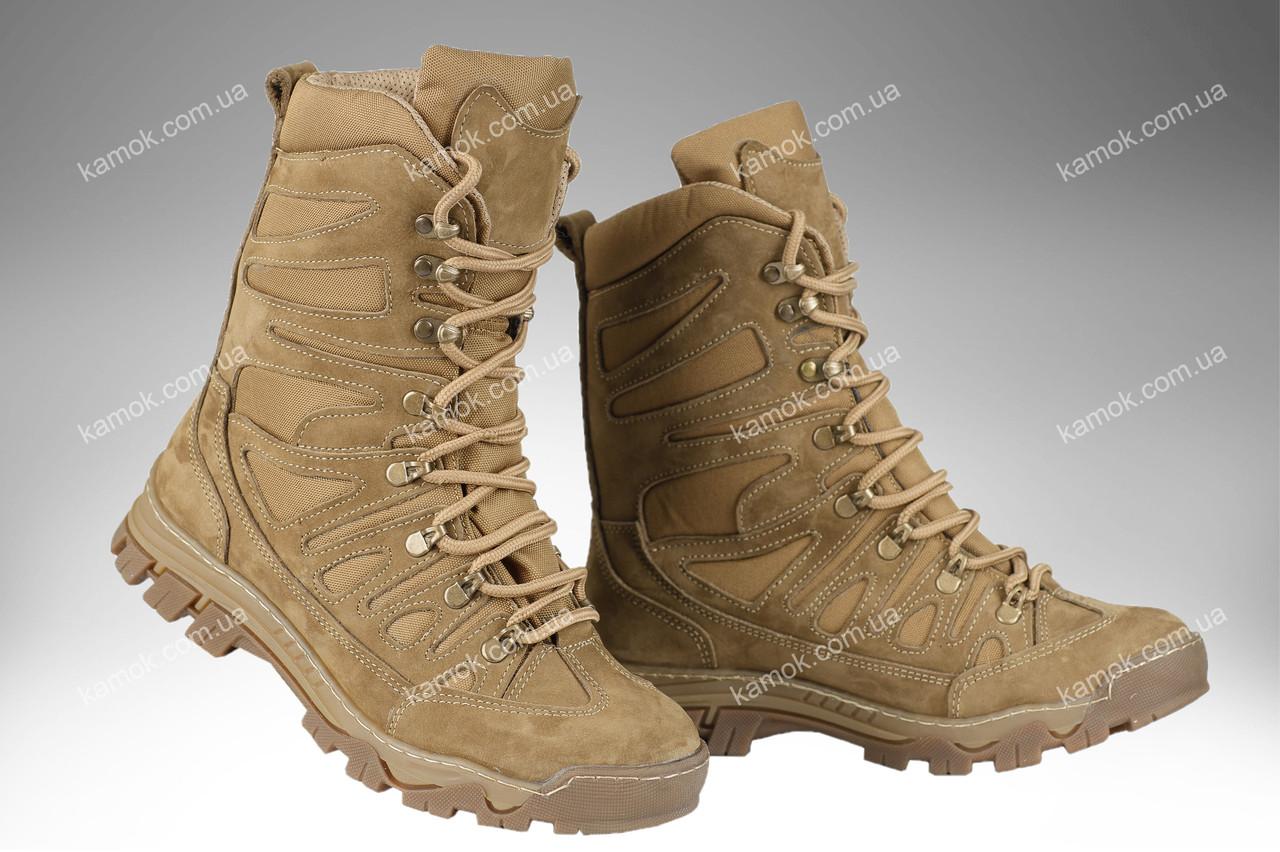 Берци тактичні демісезонні / військова, армійські взуття КАСКАД (coyote)