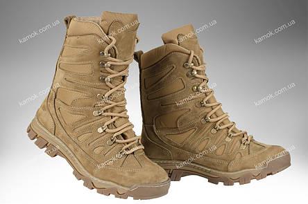 Берци тактичні демісезонні / військова, армійські взуття КАСКАД (coyote), фото 2