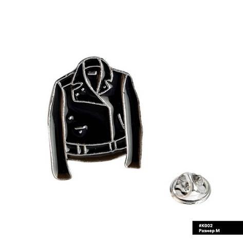 Значок металлический Пин Pin City-A Куртка №923, фото 2