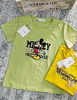 Футболка для дівчат MICKEY норма розмір 42-46,колір уточнюйте при замовленні