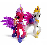 Игровой набор Пони с аксессуарами. My little horse. Волшебные единороги. Герои мультфильма., фото 1