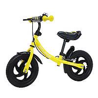 """Детский беговел, велобег 12"""" от 2-5лет EVA колеса,  BALANCE TILLY 12 Eclipse T-21254/1"""
