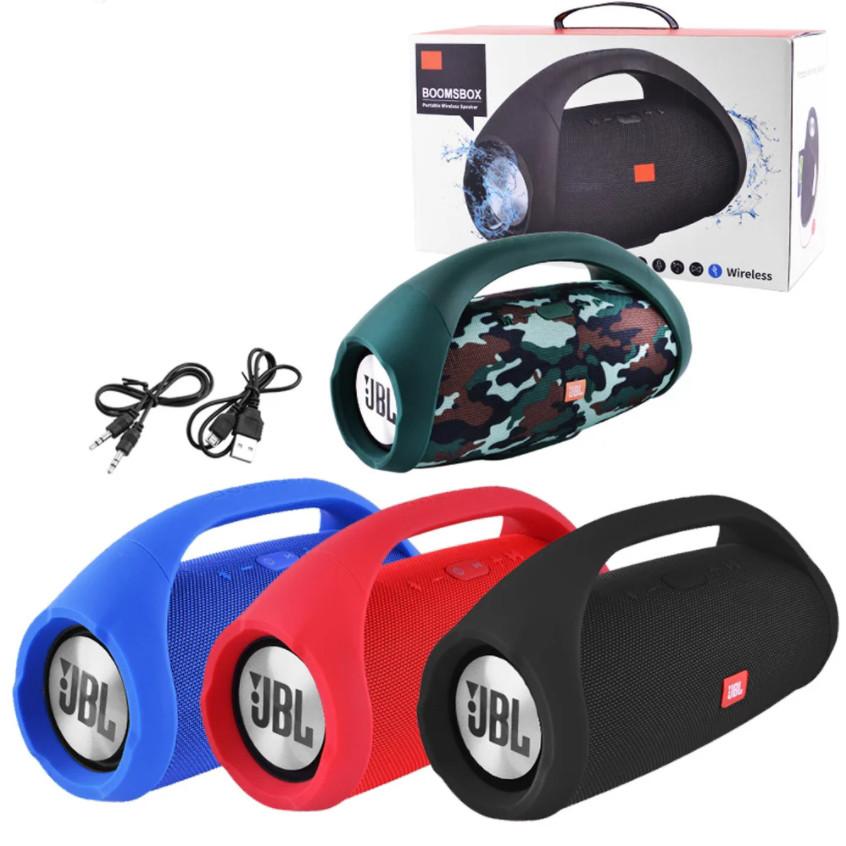Портативная колонка JBL BOOMBOX Big Переносная беспроводная Bluetooth Speaker Usb акустика Влагозащищенная