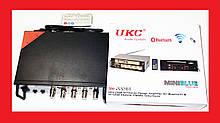 Підсилювач звуку UKC SN-222BT FM USB Bluetooth + Караоке