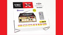 Підсилювач звуку UKC SN-606BT FM USB Bluetooth + Караоке