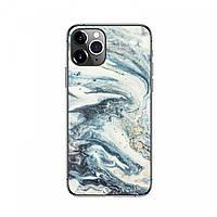 Захисна плівка чохол на смартфон Блакитний Мармур, фото 1