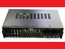 Підсилювач UKC AV-663BT Bluetooth FM SD USB, AUX Караоке 4 x Мікрофону