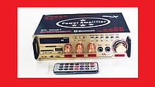 Підсилювач звуку UKC SN-802BT FM USB Bluetooth + Караоке