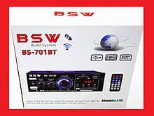 Підсилювач BSW BS-701BT Bluetooth Стерео Підсилювач звуку